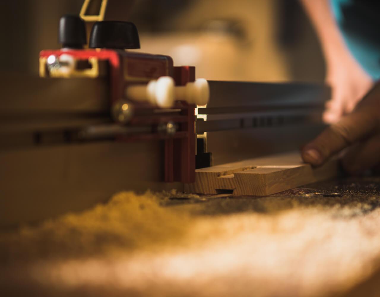 Työtavat - Luomus Woodworks